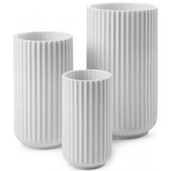 Lyngby Porcelæn Vase hvid - 15 cm
