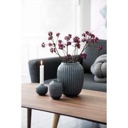 Kähler Hammershøi Vase grå 20 cm.
