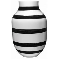 Kähler Omaggio Vase sort 30,5 cm.