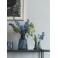 Holmegaard Flora Vase blå 24 cm.